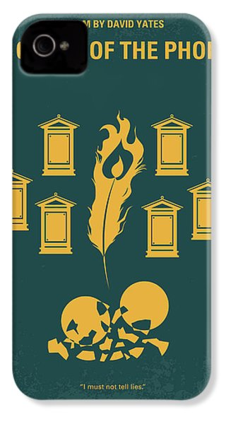 No101-5 My Hp - Order Of The Phoenix Minimal Movie Poster IPhone 4s Case