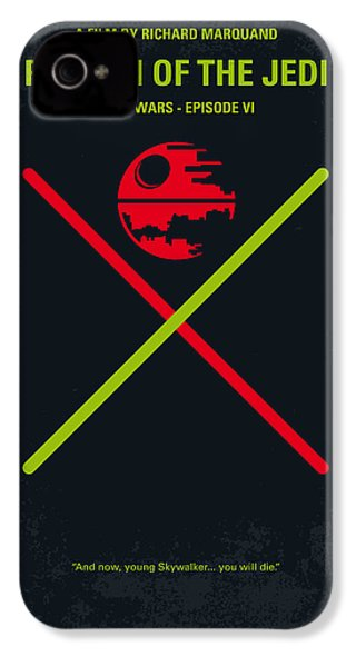 No156 My Star Wars Episode Vi Return Of The Jedi Minimal Movie Poster IPhone 4s Case by Chungkong Art