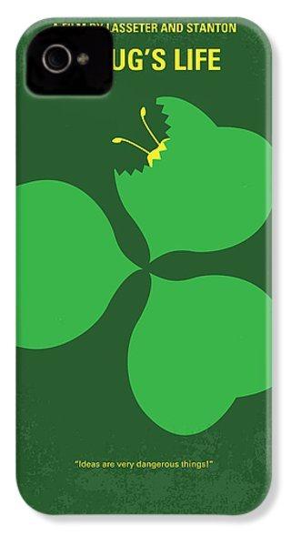 No401 My A Bugs Life Minimal Movie Poster IPhone 4s Case by Chungkong Art