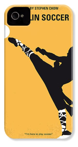 No480 My Shaolin Soccer Minimal Movie Poster IPhone 4s Case