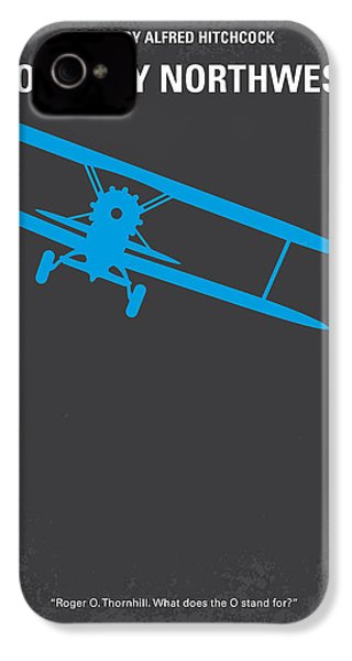 No535 My North By Northwest Minimal Movie Poster IPhone 4s Case