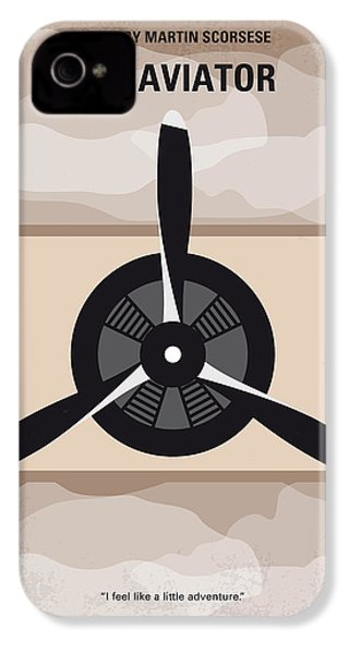 No618 My The Aviator Minimal Movie Poster IPhone 4s Case