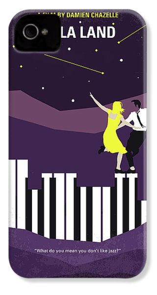 No756 My La La Land Minimal Movie Poster IPhone 4s Case by Chungkong Art