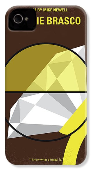 No766 My Donnie Brasco Minimal Movie Poster IPhone 4s Case