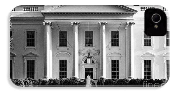 north facade from pennsylvania avenue the white house Washington DC USA IPhone 4s Case by Joe Fox