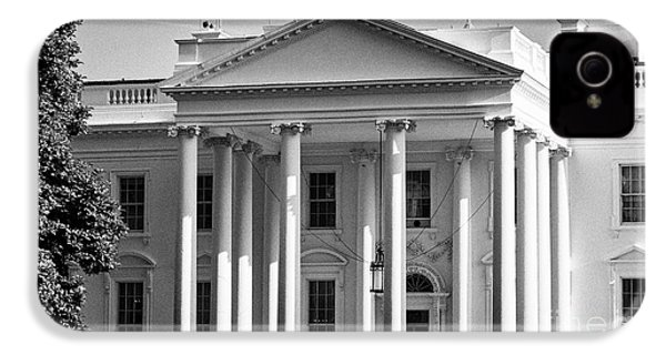 north facade of the White House Washington DC USA IPhone 4s Case by Joe Fox