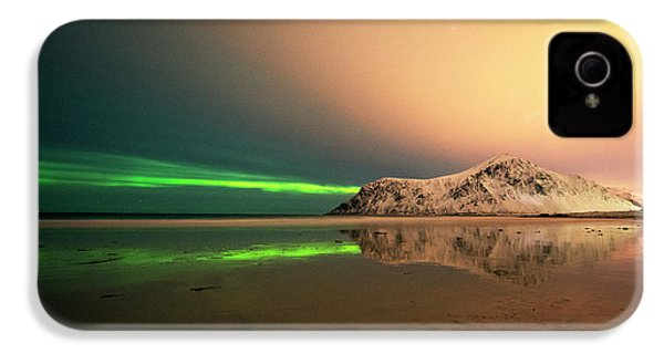 Northern Light In Lofoten Nordland 5 IPhone 4s Case by Dubi Roman