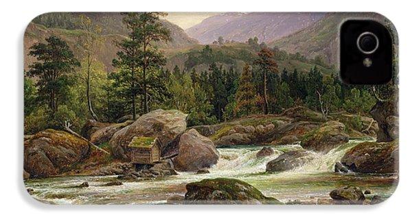 Norwegian Waterfall IPhone 4s Case
