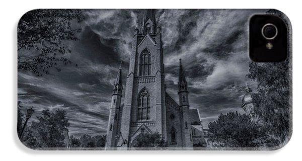 Notre Dame University Church IPhone 4s Case by David Haskett