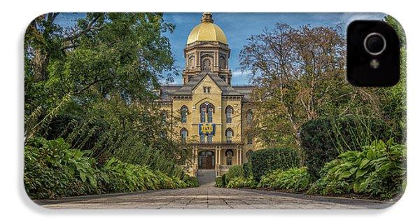 Notre Dame University Q1 IPhone 4s Case by David Haskett