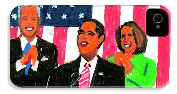 Obama's State Of The Union '10 IPhone 4s Case by Candace Lovely