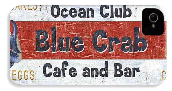 Ocean Club Cafe IPhone 4s Case by Debbie DeWitt