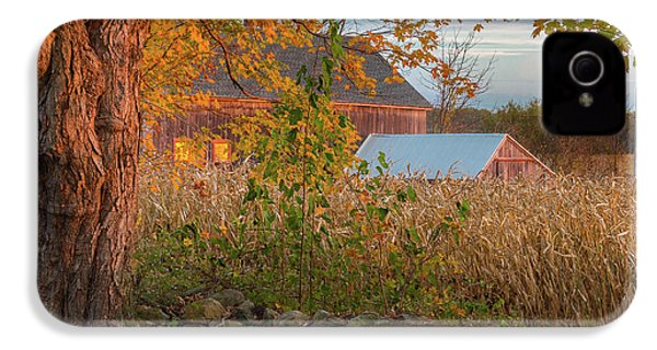 IPhone 4s Case featuring the photograph October Morning 2016 Square by Bill Wakeley