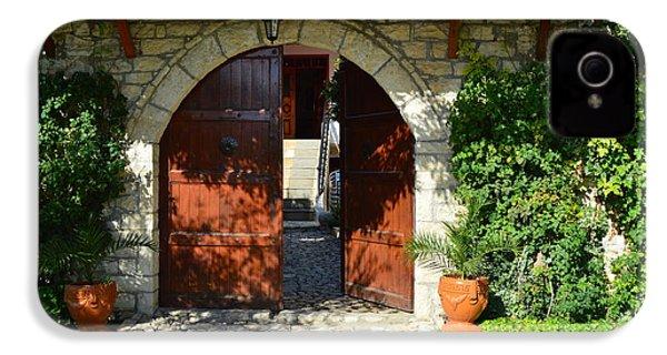 Old House Door IPhone 4s Case by Nuri Osmani