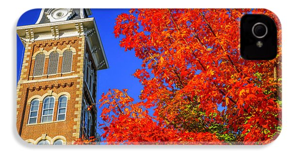 Old Main Maple IPhone 4s Case by Damon Shaw