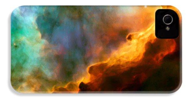 Omega Swan Nebula 3 IPhone 4s Case by Jennifer Rondinelli Reilly - Fine Art Photography