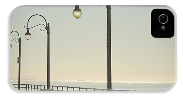 On The Pier IPhone 4s Case by Linda Woods