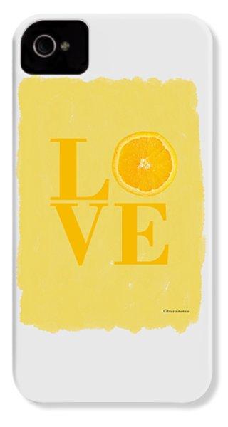 Orange IPhone 4s Case by Mark Rogan