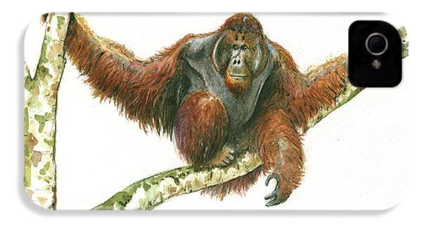 Orangutang IPhone 4s Case