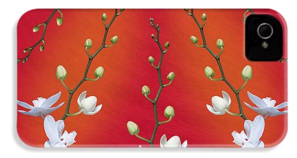 Orchid Ensemble IPhone 4s Case by Tom Mc Nemar
