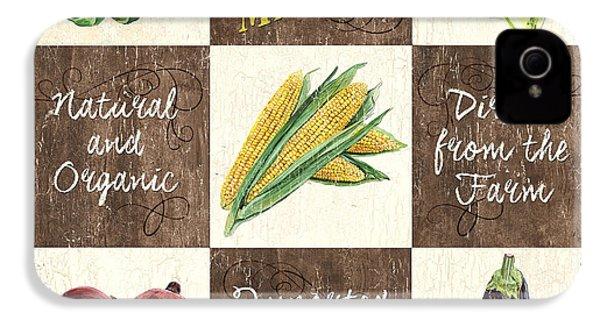 Organic Market Patch IPhone 4s Case by Debbie DeWitt