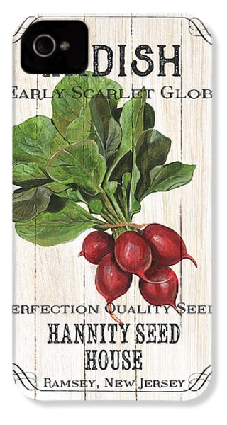 Organic Seed Packet 3 IPhone 4s Case by Debbie DeWitt