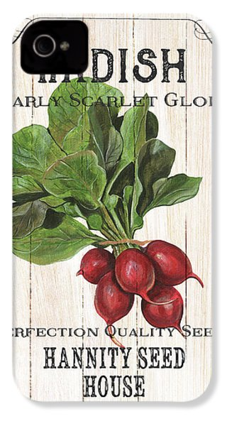 Organic Seed Packet 3 IPhone 4s Case by Debbie DeWitt