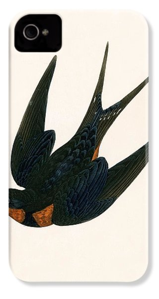 Oriental Chimney Swallow IPhone 4s Case by English School