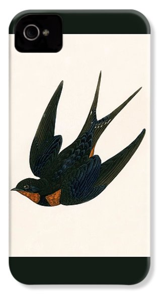 Oriental Chimney Swallow IPhone 4s Case