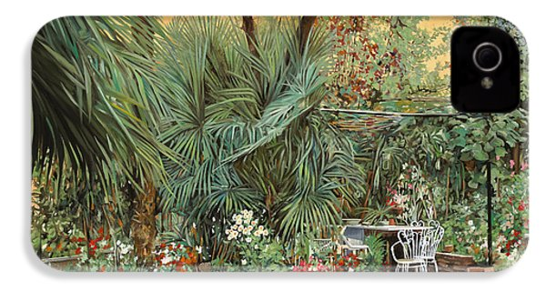 Our Little Garden IPhone 4s Case by Guido Borelli