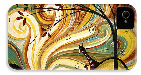 Out West Original Madart Painting IPhone 4s Case