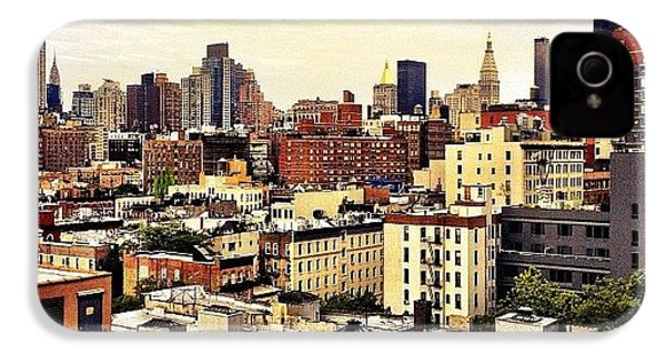 Over The Rooftops Of New York City IPhone 4s Case
