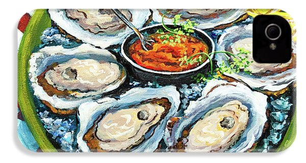 Oysters On The Half Shell IPhone 4s Case