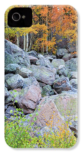 Painted Rocks IPhone 4s Case by David Chandler