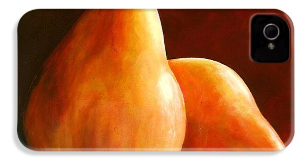 Pair Of Pears IPhone 4s Case by Toni Grote