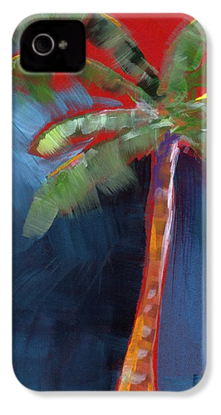 Palm Tree- Art By Linda Woods IPhone 4s Case by Linda Woods