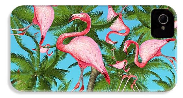 Palm Tree IPhone 4s Case by Mark Ashkenazi