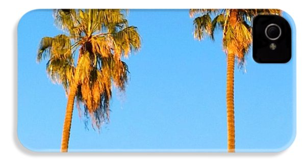 #palm #trees At Sunset. #california IPhone 4s Case by Shari Warren