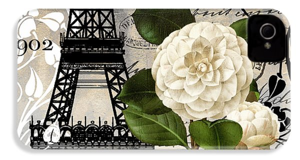 Paris Blanc I IPhone 4s Case by Mindy Sommers