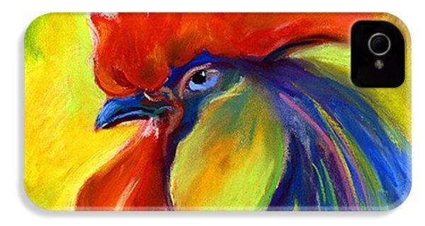 Pastel Rooster By Svetlana Novikova ( IPhone 4s Case