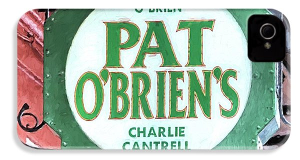 IPhone 4s Case featuring the photograph Pat Obriens by JC Findley