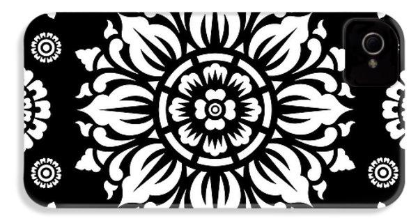 Pattern Art 01-1 IPhone 4s Case by Bobbi Freelance