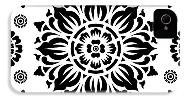 Pattern Art 01-2 IPhone 4s Case by Bobbi Freelance