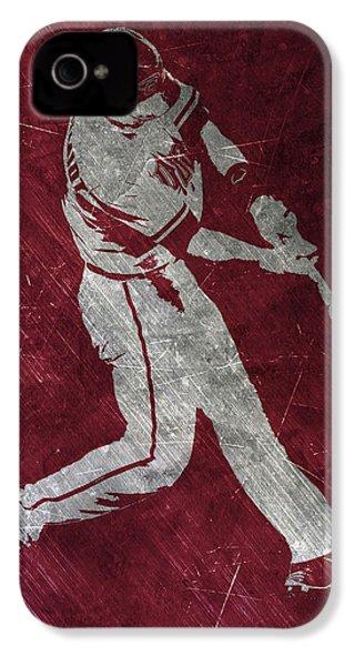 Paul Goldschmidt Arizona Diamondbacks Art IPhone 4s Case by Joe Hamilton