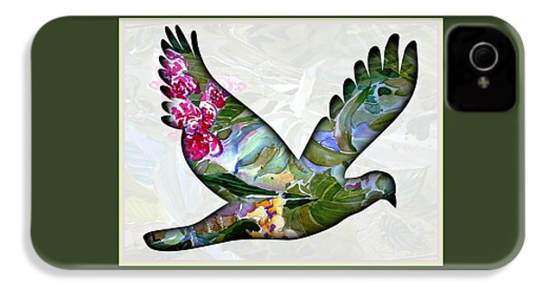 Peace For Peace IPhone 4s Case by Mindy Newman