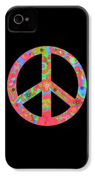 Peace IPhone 4s Case