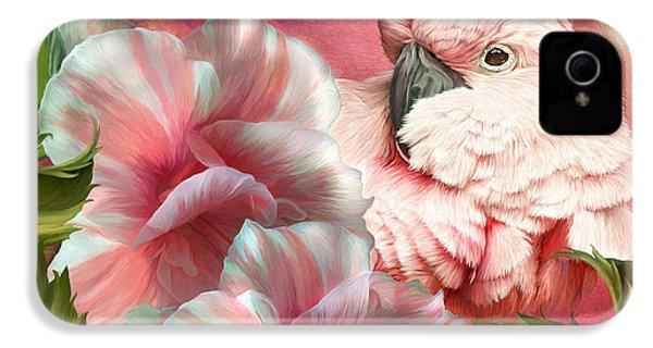 Peek A Boo Cockatoo IPhone 4s Case by Carol Cavalaris