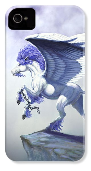 Pegasus Unchained IPhone 4s Case by Stanley Morrison