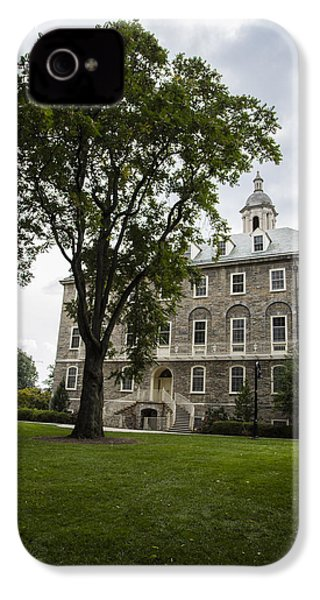 Penn State Old Main From Side  IPhone 4s Case by John McGraw