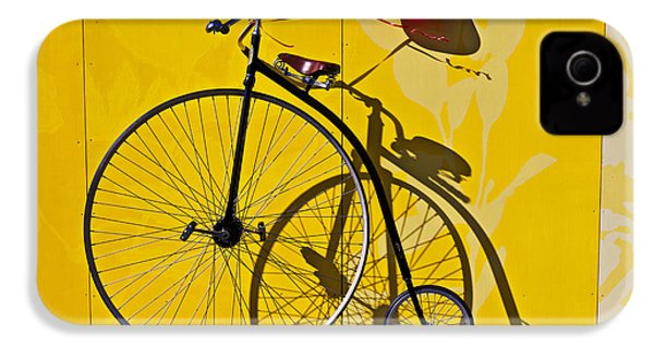 Penny Farthing Love IPhone 4s Case by Garry Gay